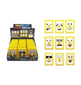 GiftCraft Emoji LED Lighted Night Switch Single Assorted Styles