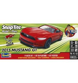 Great Planes Model Distributors Revell 1 25 2015 Mustang GT Red