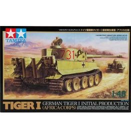Great Planes Model Distributors Tamiya 1 48 German Tiger I Initial Prod Africa Corps