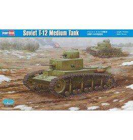 Great Planes Model Distributors Hobby Boss 1 35 Soviet T 12 Medium Tank
