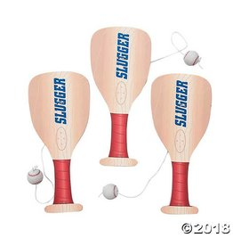 Fun Express Baseball Paddle Ball Game