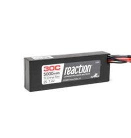Horizon Hobby Reaction 7.4V 5000mAh 2S 30C LiPo Hardcase EC3