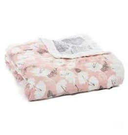 Aden and Anais Silky Soft Dream Blanket Pretty Petals