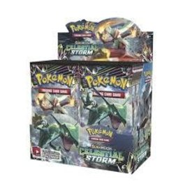 R and M Pokemon Booster Celestial Storm Single Assorted Pack