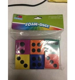 Fun Express Foam Dice 6pk