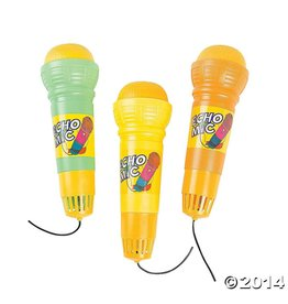 Fun Express Echo Mic Orange Green Single Assorted