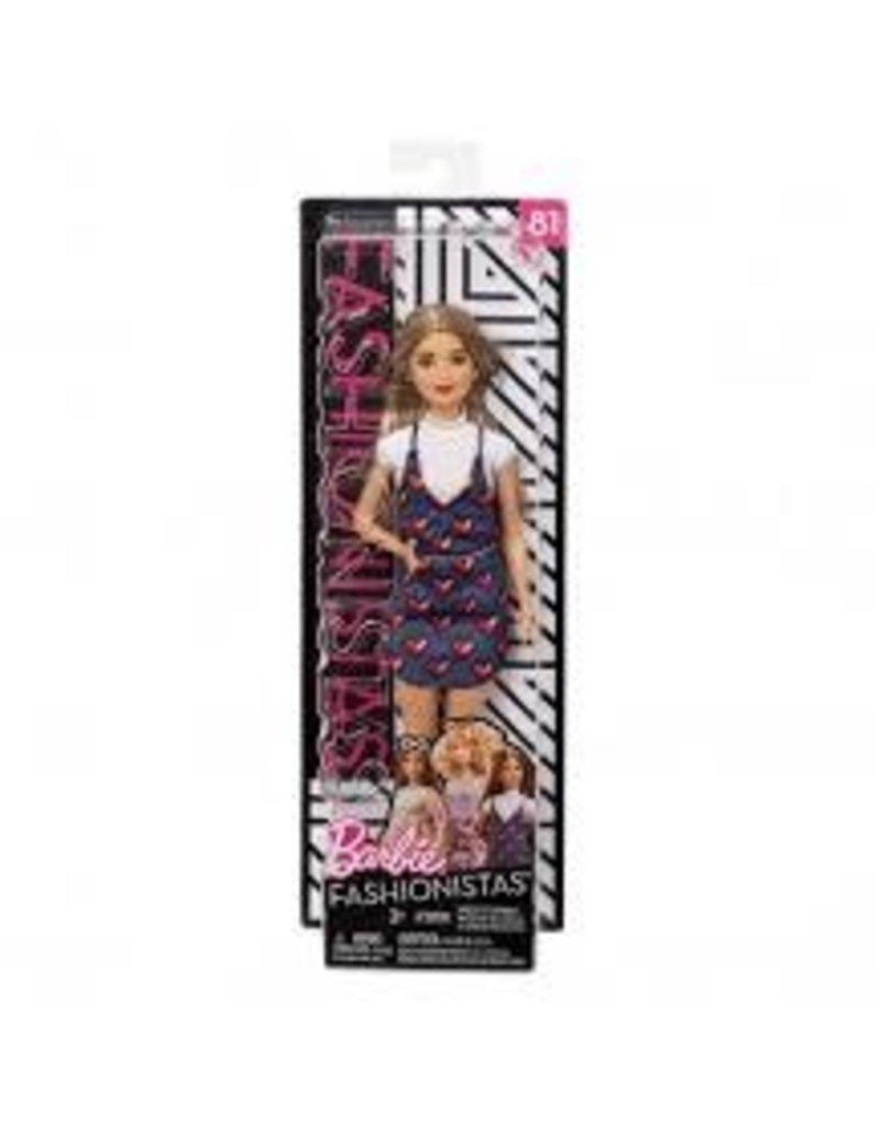 Mattel Barbie Fashionistas Wear Your Heart Fashion Doll