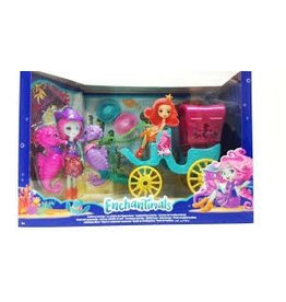 Mattel Enchantimals Seahorse Carriage