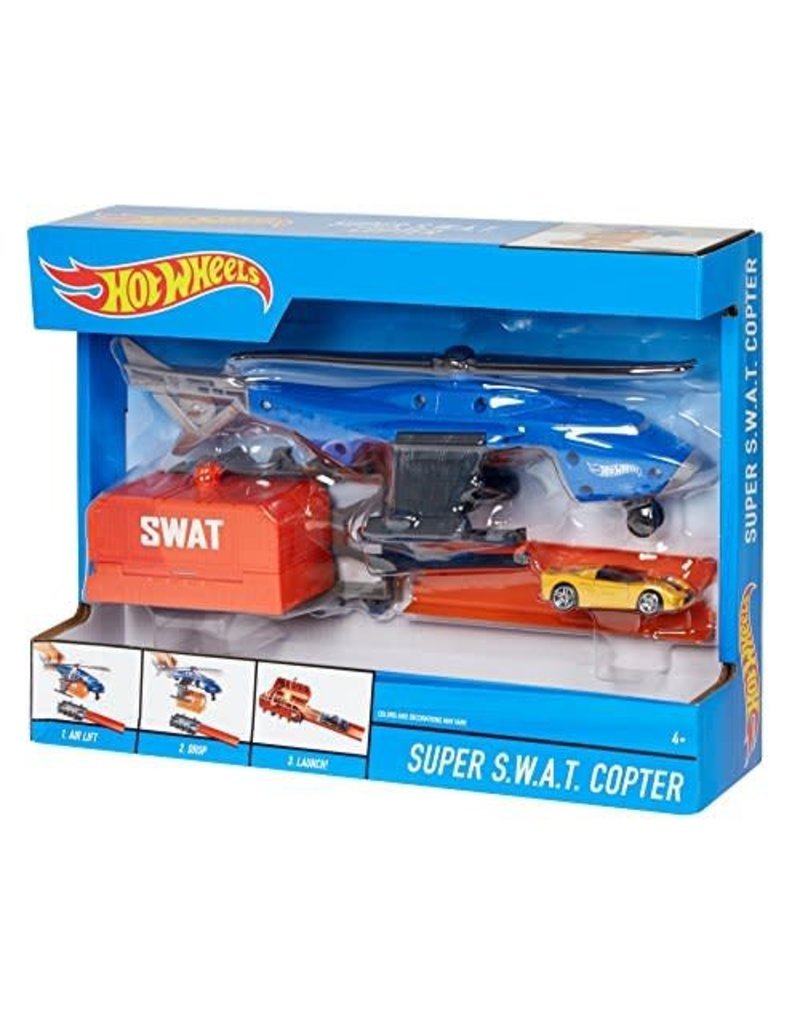 Mattel Hot Wheels Super SWAT Copter