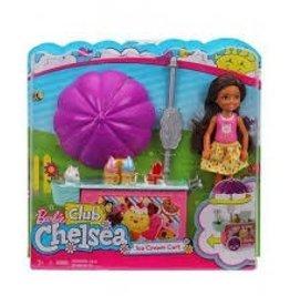 Mattel Barbie Club Chelsea Ice Cream Cart