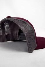 Maroon Logo Mesh Back Hat