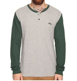 Obey OBEY | NOTE LONG SLEEVE HENLEY
