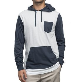 RVCA RVCA | SET UP LONG SLEEVE HOODIE