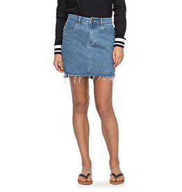 RVCA ROXY | TAKE THIS CHANCE DENIM SKIRT
