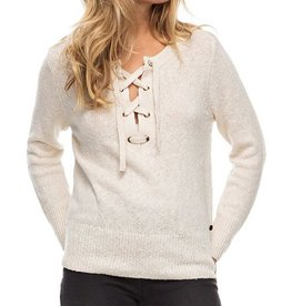 Roxy ROXY | MY LITTLE BLISS LACE-UP SWEATER