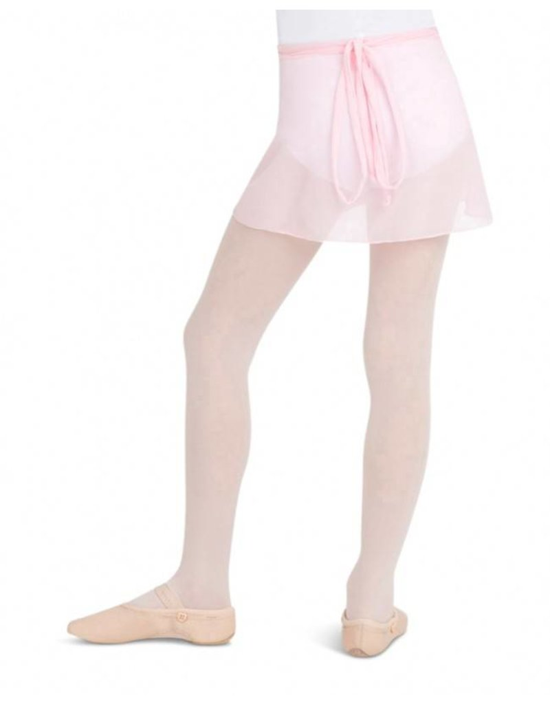 Capezio CC130C Child's Chiffon Wrap Skirt