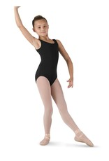 Bloch CL5405 Wide Strap Round Neck Tank Leo