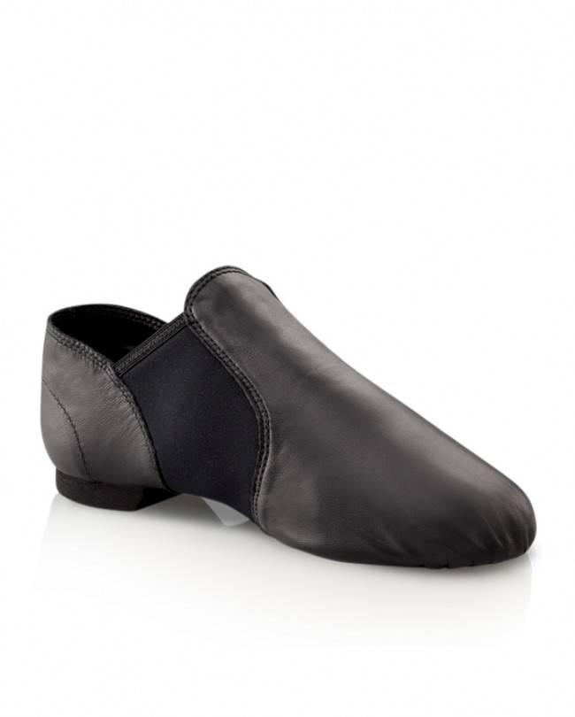 Capezio EJ2C Children's Slip-On Jazz Split Sole Stretch Boot