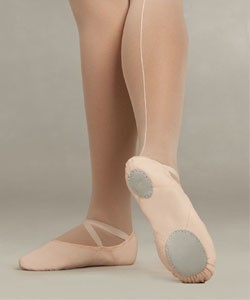 Capezio 2028 Canvas Juliet Ballet Shoe