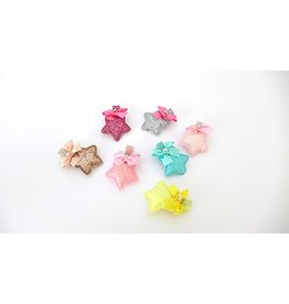 FH2 HC0102 Small Star Hair Clip - Assorted