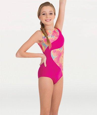 Body Wrappers 2541 Spliced Gymnastic Cut Leotard