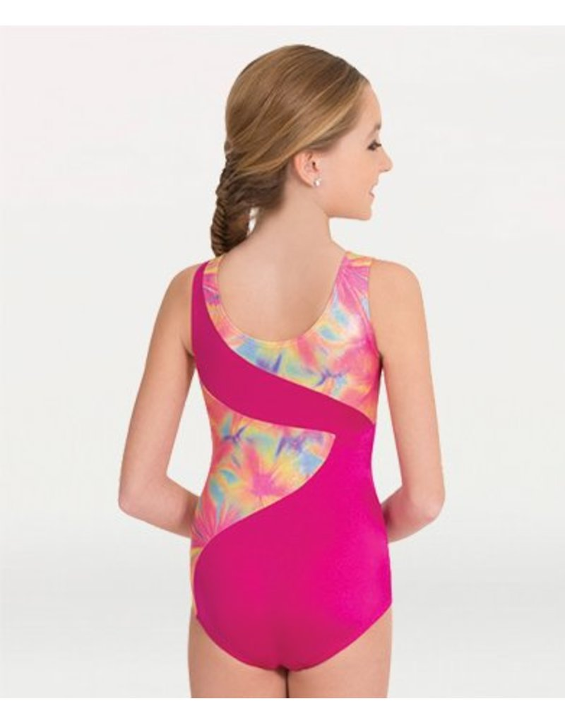 Body Wrappers 2541 Spliced Gymnastic Cut Leotard