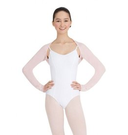 Capezio CS302 Knit Shrug - Pink L