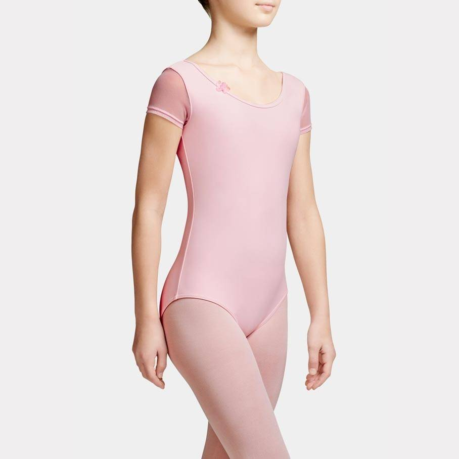 Capezio 10997C Short Sleeve Leotard