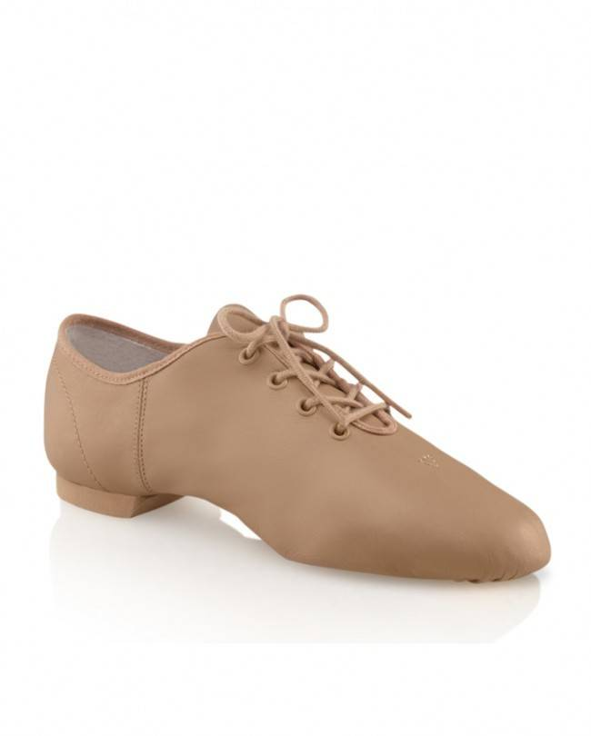 Capezio EJ1 Adult Entry Jazz Split Sole Leather Oxford Shoe