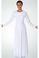 Body Wrappers 585 Adults Empire Waist Dress