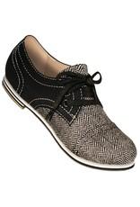 Aris Allen 335 Aris Allen Women's Canvas Captoe Dance Shoes
