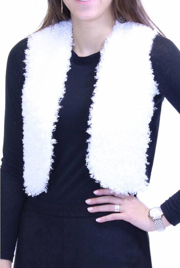 Ermana Lamb Fur Vest
