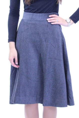 MW Textured Aline Skirt 70% OFF