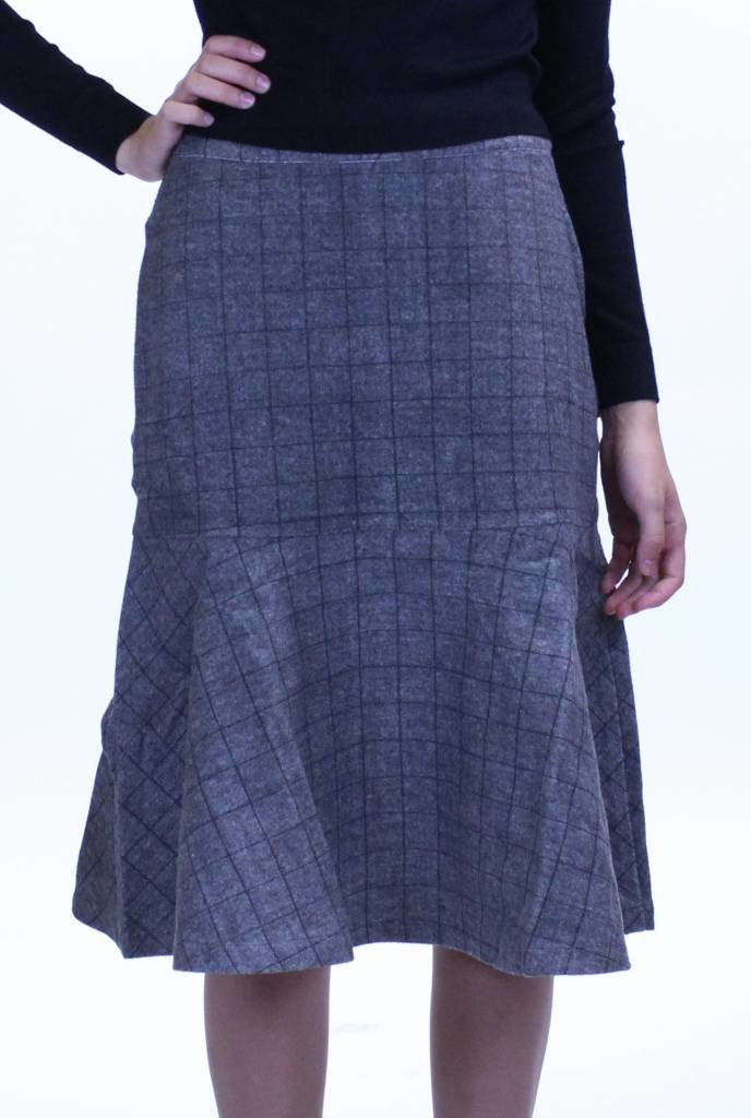 Junee Wool Flute Skirt