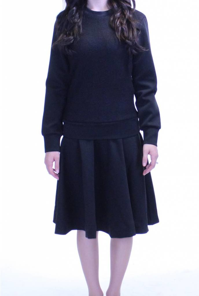 MW Drop Waist Dress