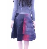 MW Burgundy Ombre Skirt