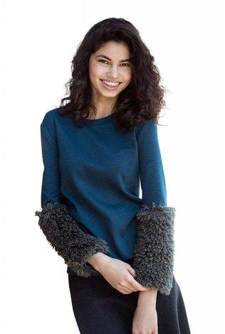 Oly & Elizabeth Cuff Sweater