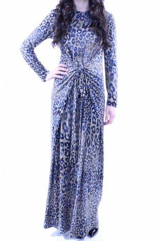 AC+CO Leopard Print Maxi Dress