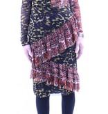 Petit Pois Asymmetric Ruffle Skirt