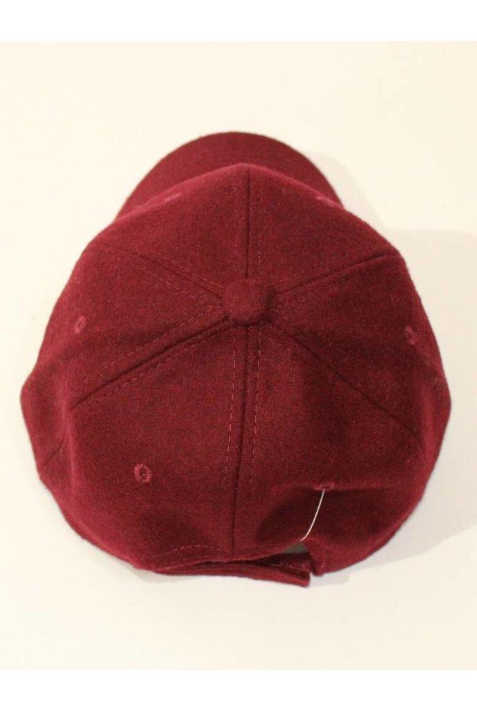 Wool Cap Burgundy