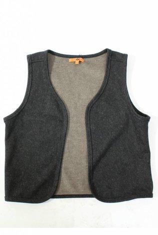 Oly & Elizabeth Dark Grey Reversible Vest