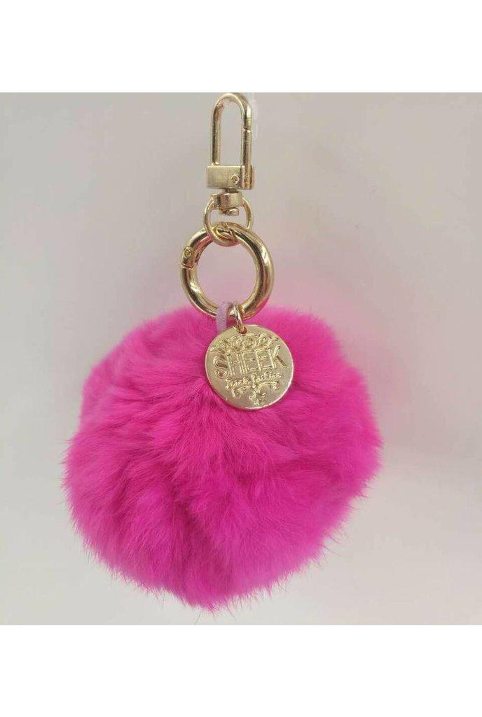 Sheek Sheek Exclusive Pom Pom Keychain