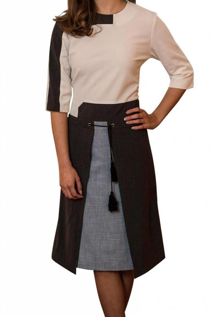 Oly & Elizabeth Tassel Skirt Dress