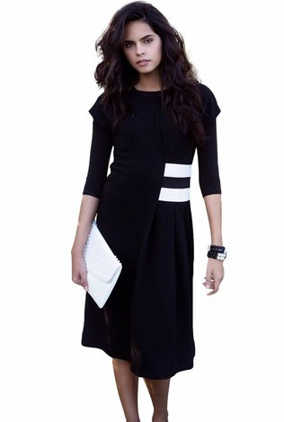 Caveleir Banded Waist Dress