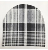 The Bean LA B/W Plaid Beanie