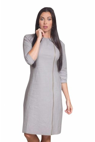 Deela Grey Twilight Dress
