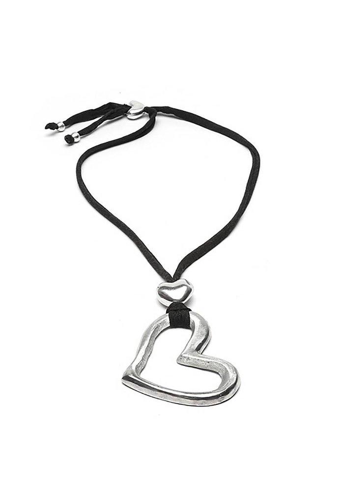 Mikah Handmade Heart Necklace