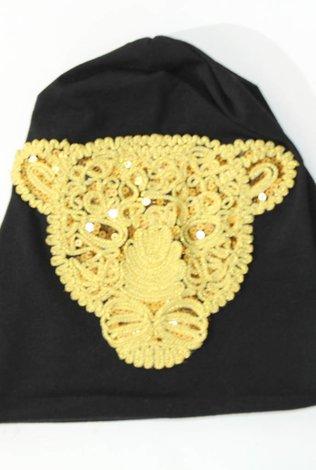 Sheek Lion Beanie Black