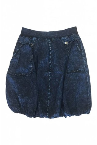 Hardtail Slash Pocket Parachute Skirt Dark Mineral