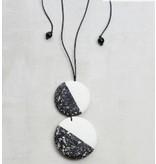 Sylca Double Marble Pendant